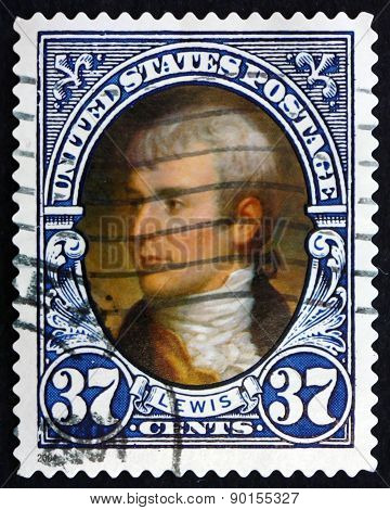 Postage Stamp Usa 2004 Meriwether Lewis, American Explorer