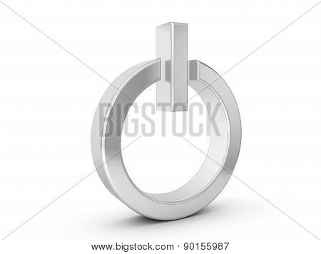 Silver Power Symbol