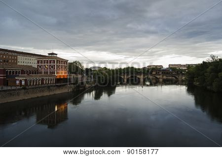 Logrono cityscape