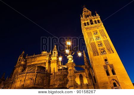 Giralda Of Seville - Spain