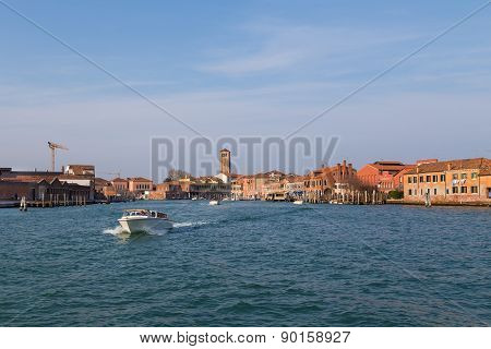 Buildings In Murano