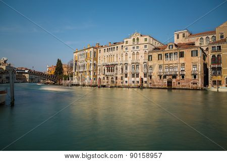 Buildings Along The Venetian Lagoon
