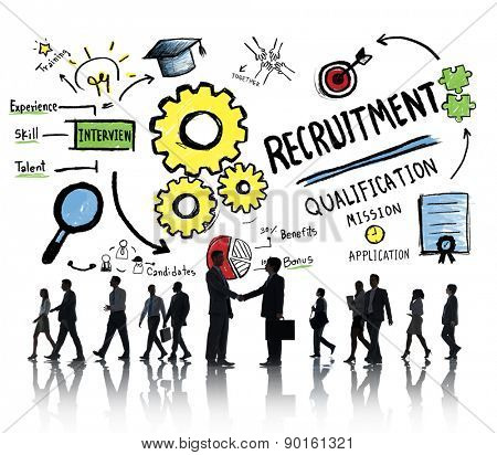 Business People Communication Recruitment Recruiting Concept