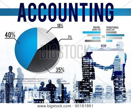 Accounting Business Banking Budge Finance Market Concept