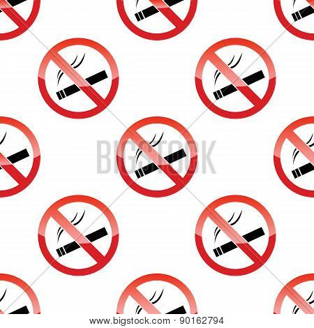 No smoking pattern