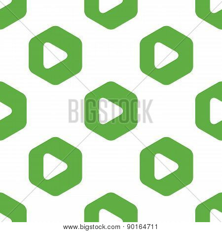 Play button pattern