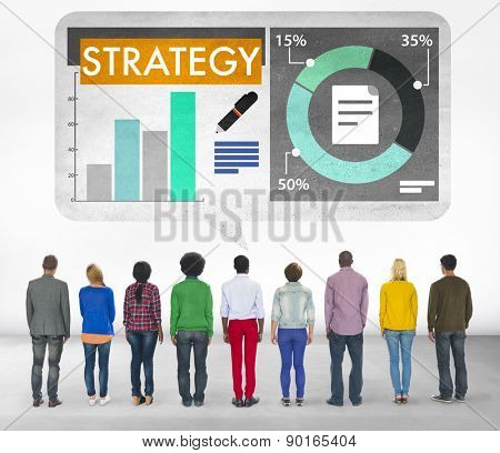 Strategy Business Plan Planning Solution Concept