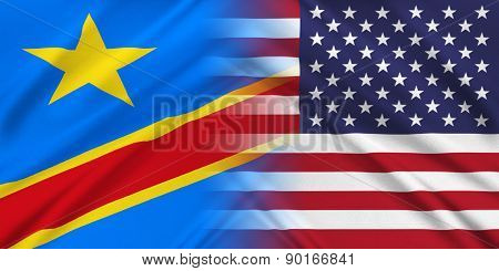 Usa And Democratic Republic Of The Congo