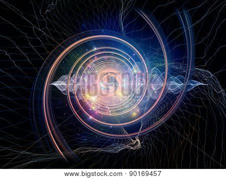 Digital Abstract Visualization