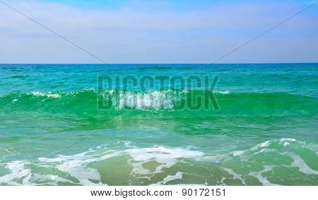 Gulf of Mexico white sands and blue gree water