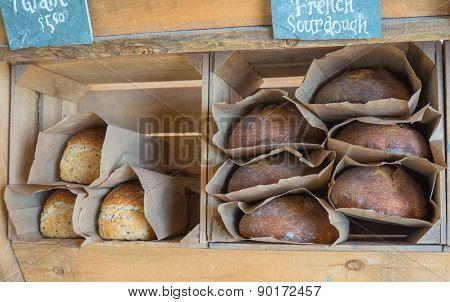 fresh bread for sale