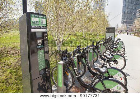 bike rentals  kiosk toronto