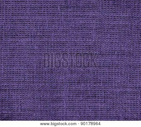 Cyber grape color burlap texture background