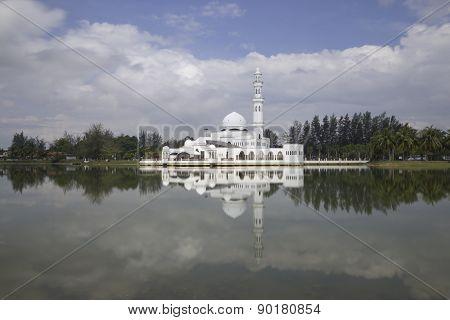 Masjid Tengku Tengah Zaharah In Kuala Terrengganu, Malaysia