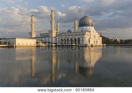 Masjid Bandaraya In Kota Kinabalu, Malaysia