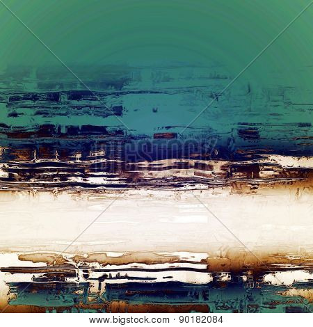 Abstract rough grunge background, colorful texture. With different color patterns: gray; green; blue; yellow (beige)