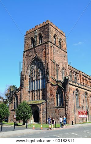 Shrewsbury Abbey.