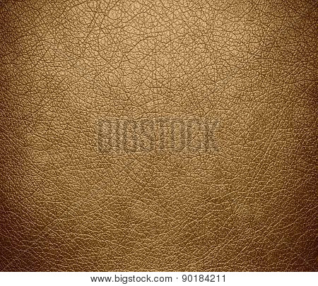 Camel color leather texture background