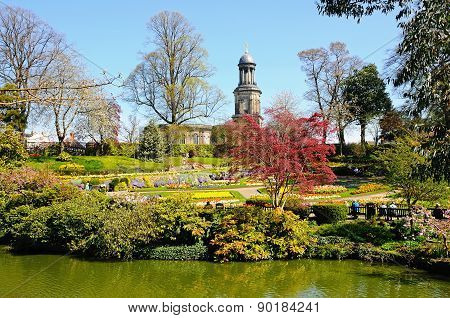 The Dingle Park, Shrewsbury.