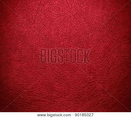 Cardinal color leather texture background