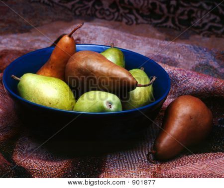 Pears In Bowl