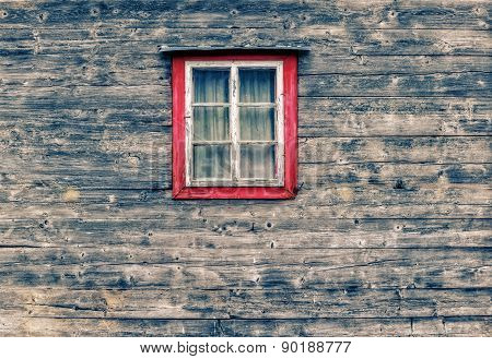 Wooden Facade Window