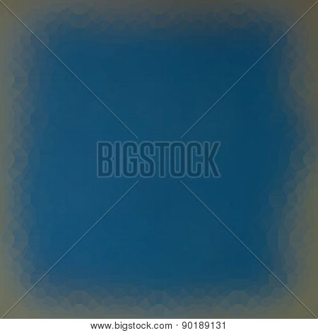 Techno Gradient Frame Light Effect In Blue Gray