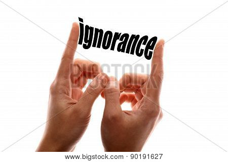 Smaller Ignorance