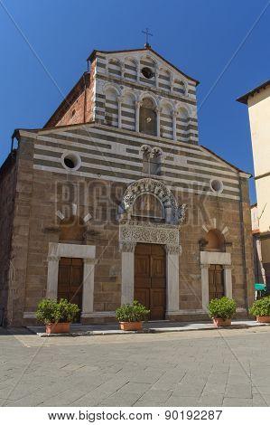 Church San Giusto In Lucca (italy)