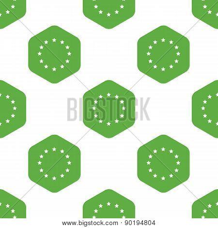 EU emblem pattern