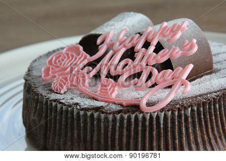 Happy Mother's Day Chocolate Cake