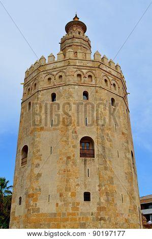 Spain Seville Torre del Oro