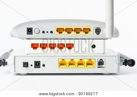 Wireless Modem Router Network Hub
