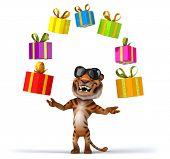 stock photo of cute tiger  - Fun tiger - JPG