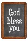 picture of blessed  - God bless you  - JPG