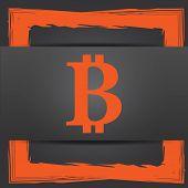 image of bitcoin  - Bitcoin icon - JPG