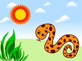 foto of king cobra  - a photo of snake vector  - JPG