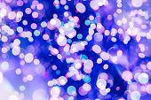 pic of golden  - Festive Background With Natural Bokeh And Bright Golden Lights - JPG