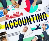 image of budge  - Accounting Business Banking Budge Finance Market Concept - JPG