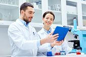 picture of chemistry technician  - science - JPG