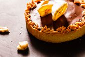 foto of tarts  - chocolate tart - JPG