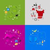 pic of veterinary  - Veterinary colorful sticker infographic - JPG