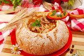 Polish Tripe Soup (flaki) In Bread Bowl poster