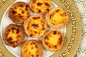 picture of pasteis  - Portugese pastries  - JPG