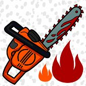 pic of chainsaw  - Lucifer  - JPG