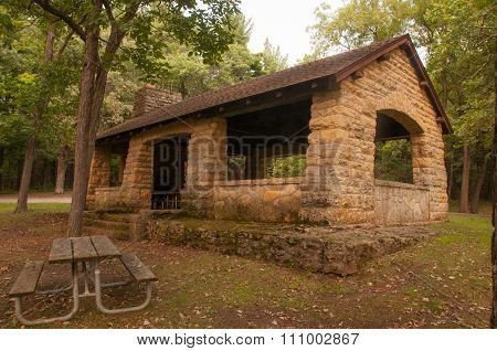 Rustic Park Shelter