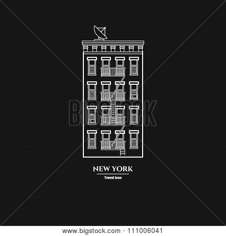 Brooklyn Buildihg Icon