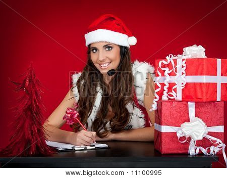 Santa Girl, Wishes, Christmas Presents