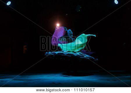 Sufi Dancer Spins