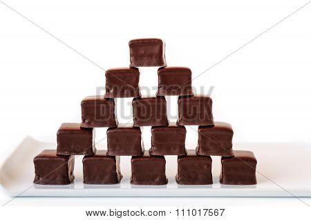Chocolate Truffles Pyramid